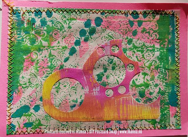 DIY postcards sent to iHanna, made by Jeane S, Minnesota, US