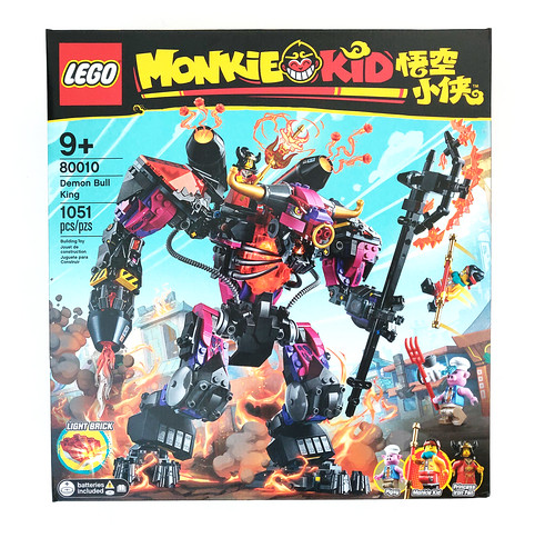 LEGO Monkie Kid Demon Bull King (80010)