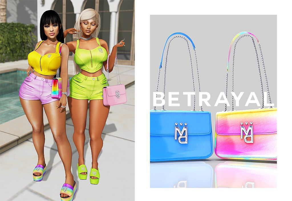 Kyla Set & Lucille Bag @ MAINSTORE