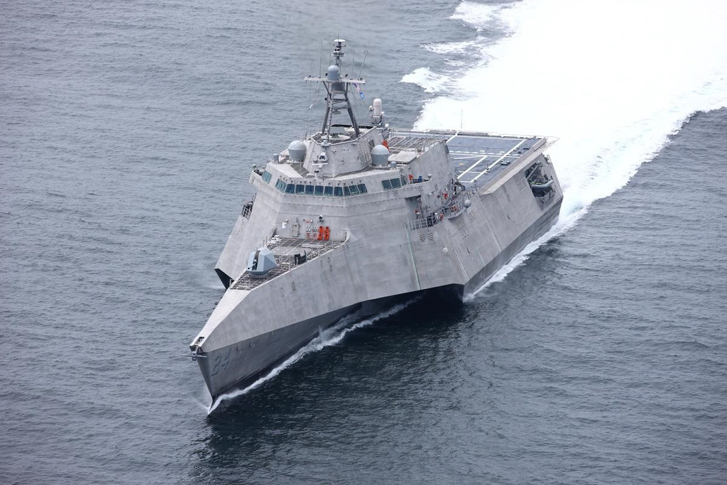 Future USS Oakland transits Gulf of Mexico
