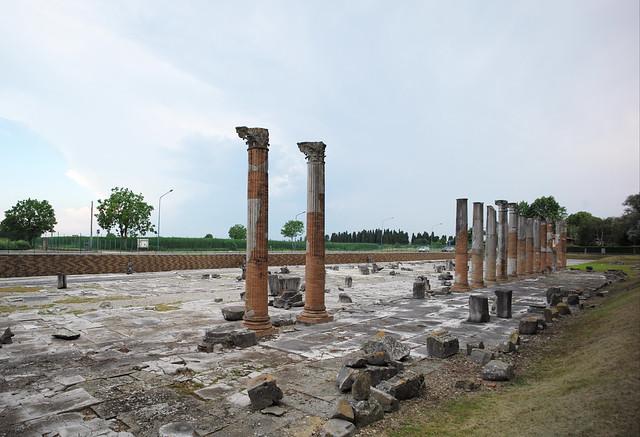 The Forum, Aquileia (Friuli Venezia Giulia) Italy, June 2020 017