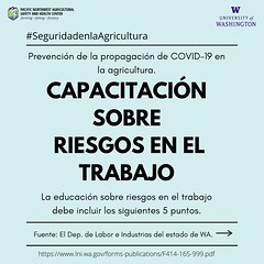 Covid-19 Workplace Hazard Education - Spanish