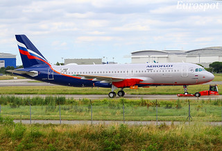 F-WWDF Airbus A320 Neo Aeroflot
