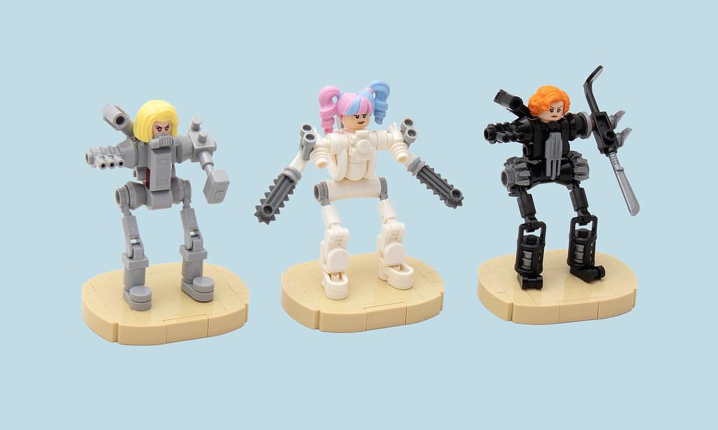 LEGO® MOC by vitreolum: BarByeBye Squad