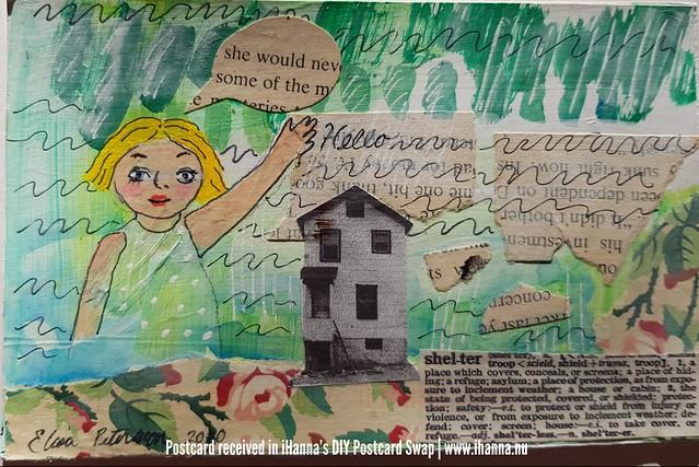 DIY postcards sent to iHanna, made by Elisa, Washington, US
