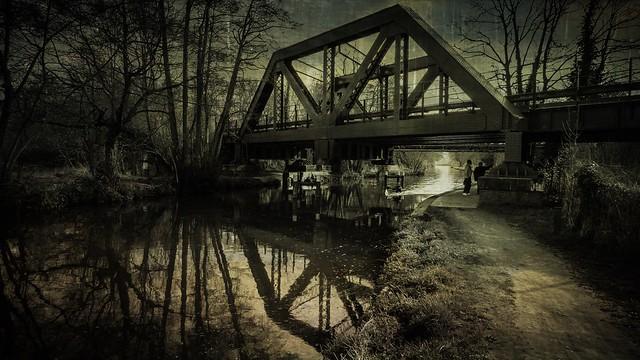 Bridge over the River Wey