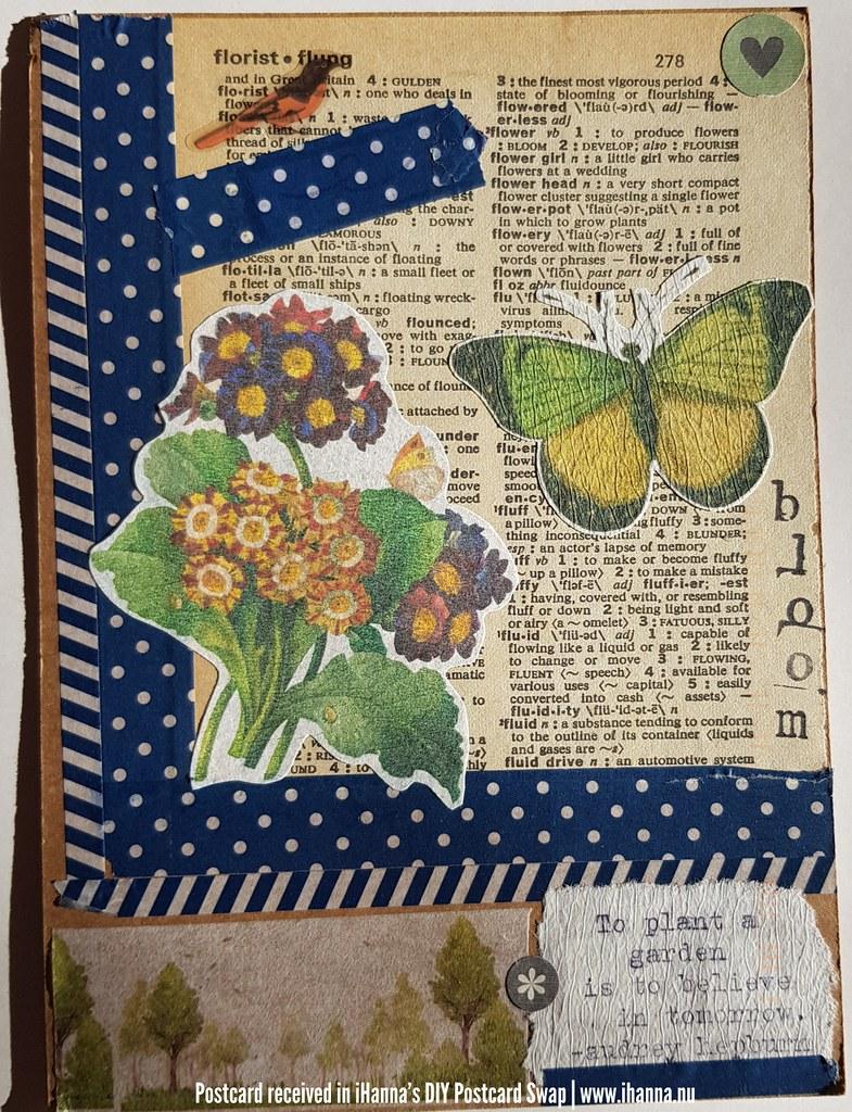 DIY postcard for iHanna made by Erica L, North Dakota, US