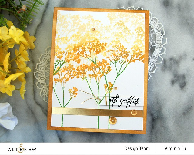 Altenew-Fragile Foliage Stamp Set #4