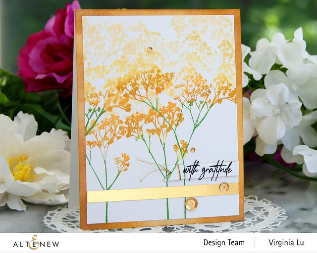 Altenew-Fragile Foliage Stamp Set #2