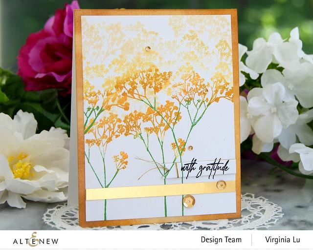 Altenew-Fragile Foliage Stamp Set #2