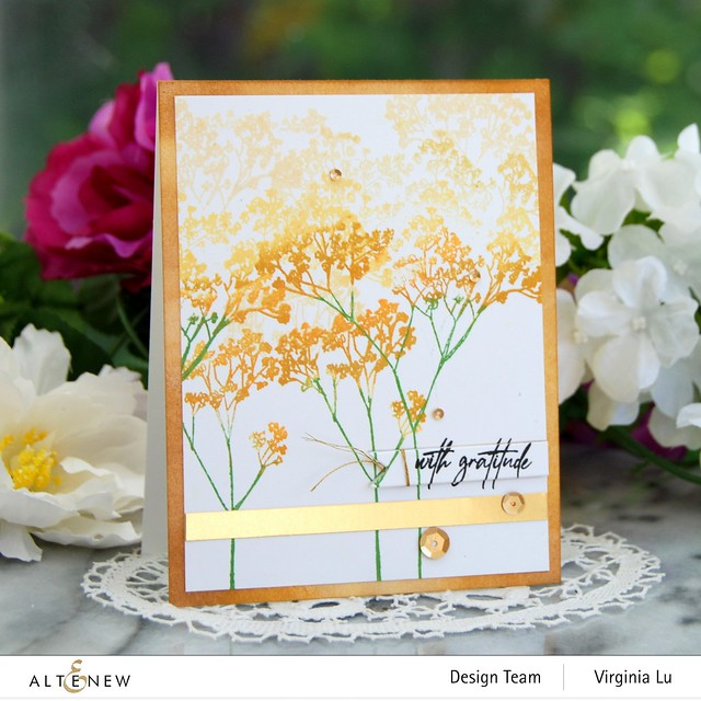 Altenew-Fragile Foliage Stamp Set #1