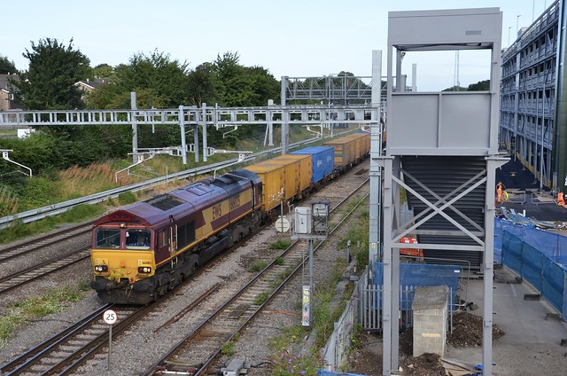 66025 at Didcot on 1st August 18'