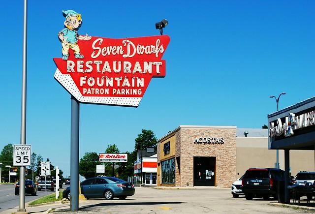 Seven Dwarfs Restaurant - Wheaton, Illinois