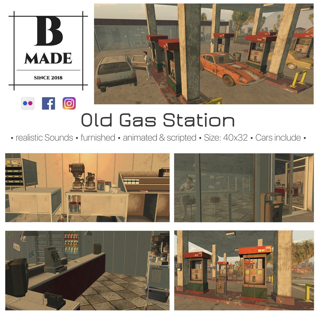 B-Made Old Gas Station
