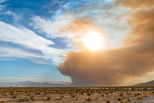 Smoke from the Mahogany Fire Fills Las Vegas Valley | by Gentilcore