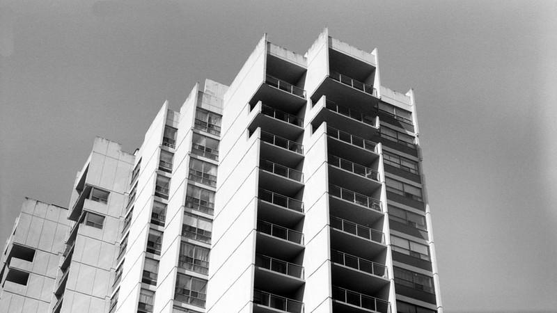 Brutalist Apartments_