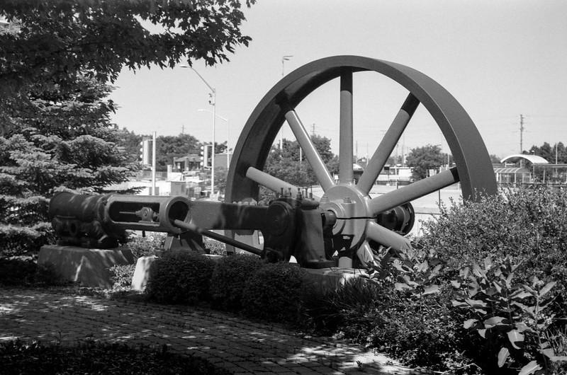 Piston and Flywheel
