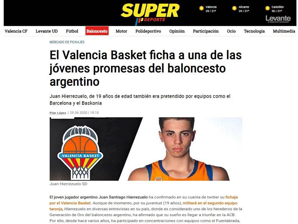 2020-06-29 DEPORTES: Juan Hierrezuelo emigra al básquet español