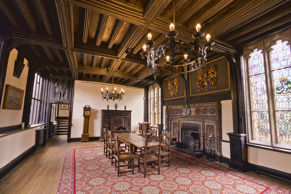 Samlesbury Hall Parlour Room