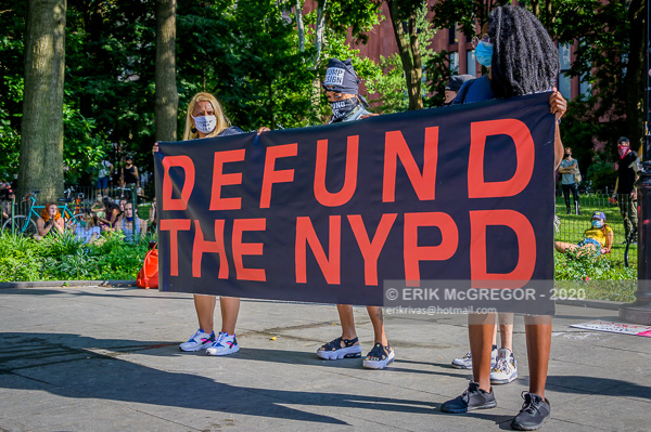 Mass March to Defund the NYPD and Abolish the Police