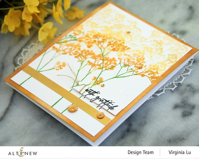 Altenew-Fragile Foliage Stamp Set #3