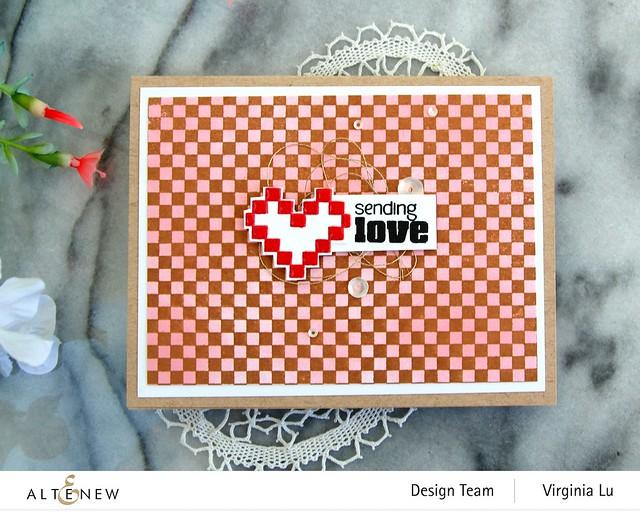 Altenew-Checkerboard Stamp Set#3