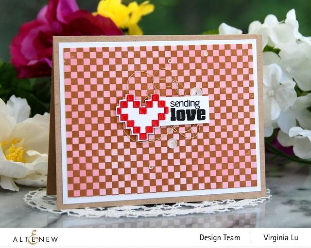 Altenew-Checkerboard Stamp Set#1