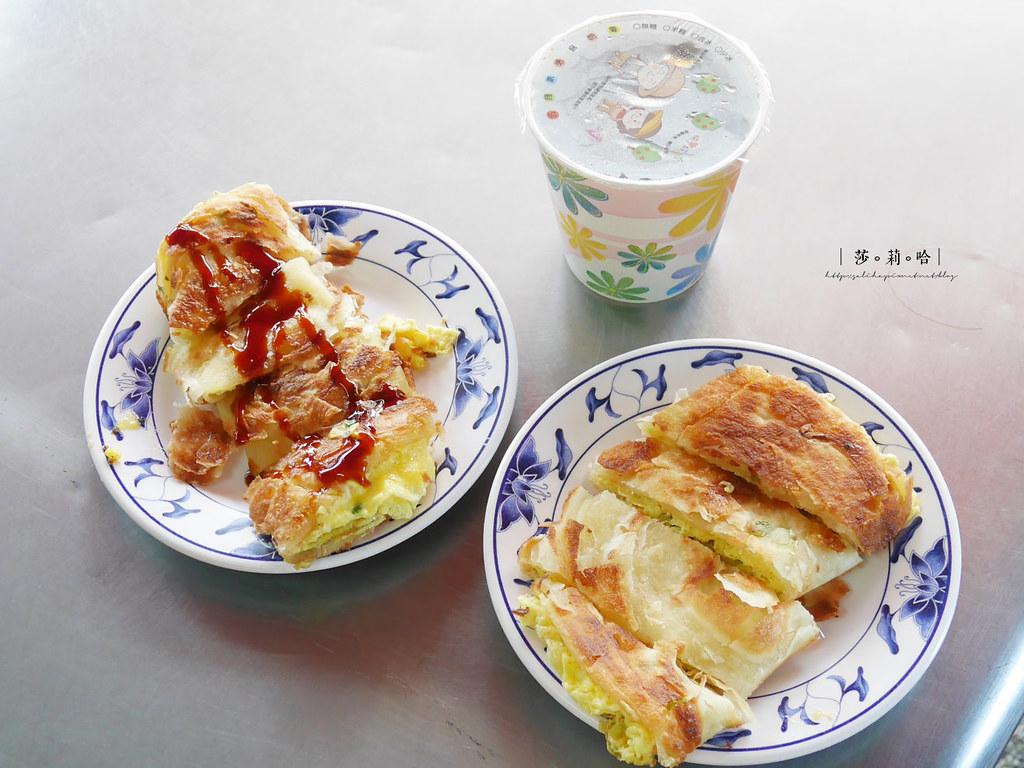新北新店必吃美食小吃早餐店推薦旭達豆漿好吃脆皮酥皮蛋餅 (3)