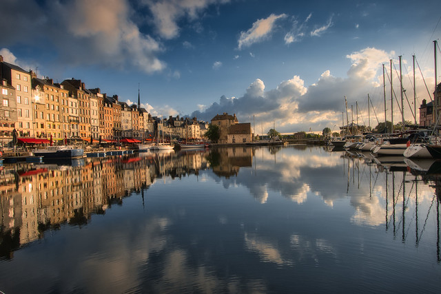 Sunrise over Honfleur