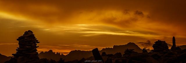 Au Crépuscule des Cairns