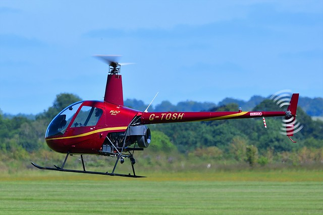 1988 Robinson R22 Beta Helicopter G-TOSH