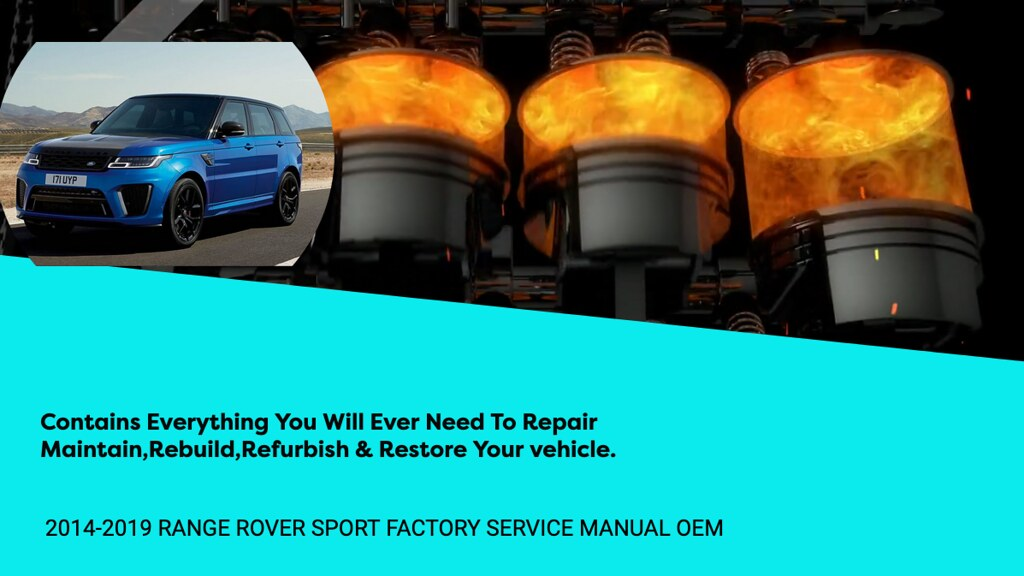 Range Rover L494 Factory Service Repair Manual Download