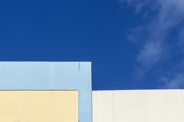 Miami Beach Abstract #1 - Residential area