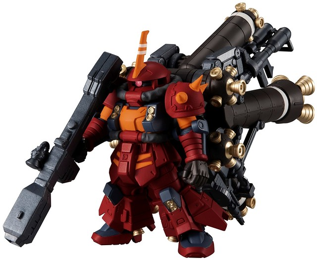 "FW GUNDAM CONVERGE EX32《機動戰士鋼彈 雷霆宙域戰線》腦波傳導型薩克(高機動型ザク ""サイコ・ザク"")"