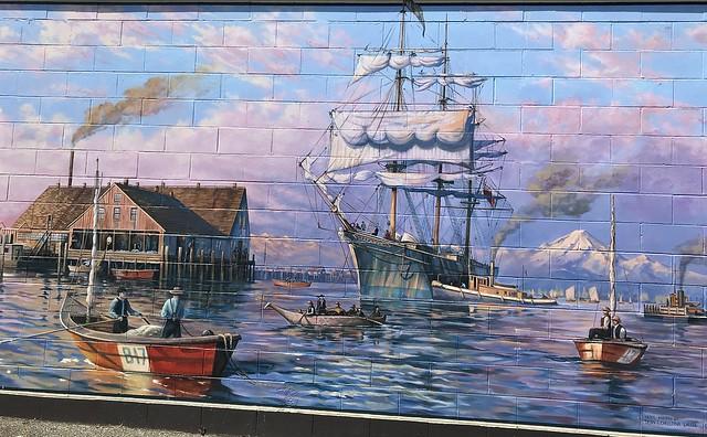 Mural: Arrival of SV Titania