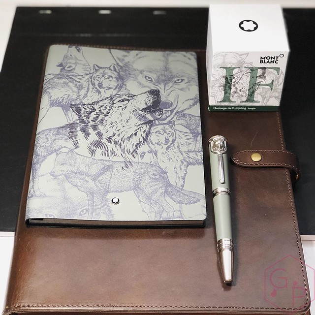 Montblanc Writer's Edition Homage to R. Kipling Jungle Green Ink 9_RWM