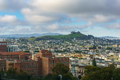 Bernal Hill from Potrero Hill