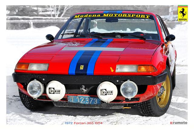 1972 Ferrari 365 GT4 Kofler Planai-Classic (c) Bernard Egger :: rumoto images 6836 II