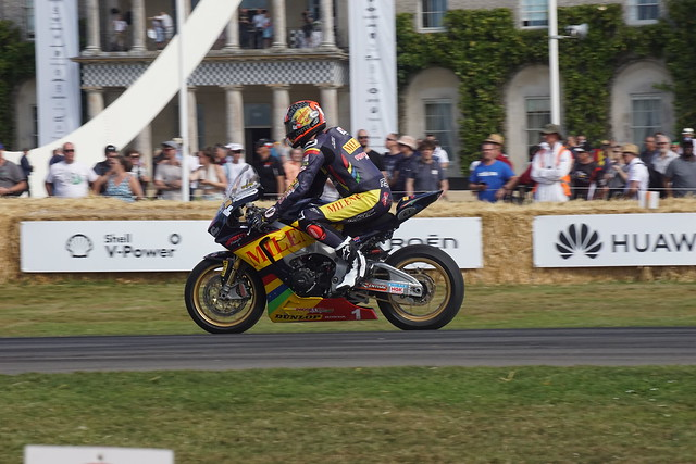 Honda CBR1000RR 999cc Four-Cylinder Four-Stroke 2019, 60 Years of Honda Motorcycle Racing, Speed Kings, Motorsport's Record Breakers, Goodwood Festival of Speed