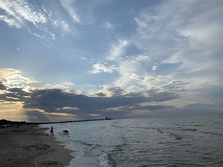 Usedom Strand am Abend
