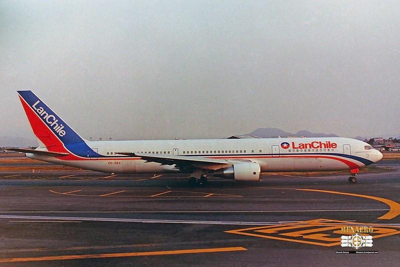 LAN Chile / Boeing 767-3Y0(ER) / CC-CEY