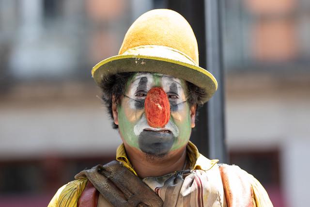 Clown Portrait, Mexico City