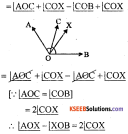 KSEEB Solutions for Class 8 Maths Chapter 3 Axioms, Postulates and Theorems Additional Questions 9
