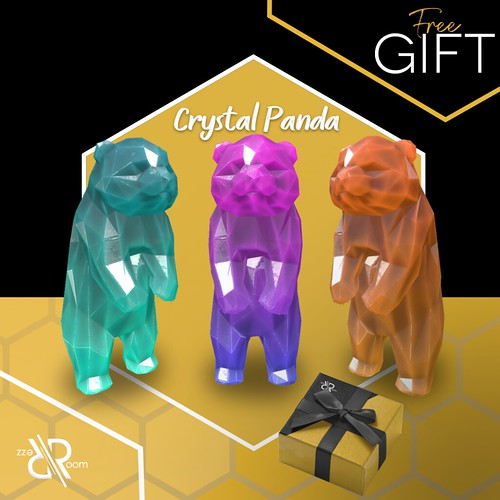[Rezz Room] Crystal Panda Group Gift