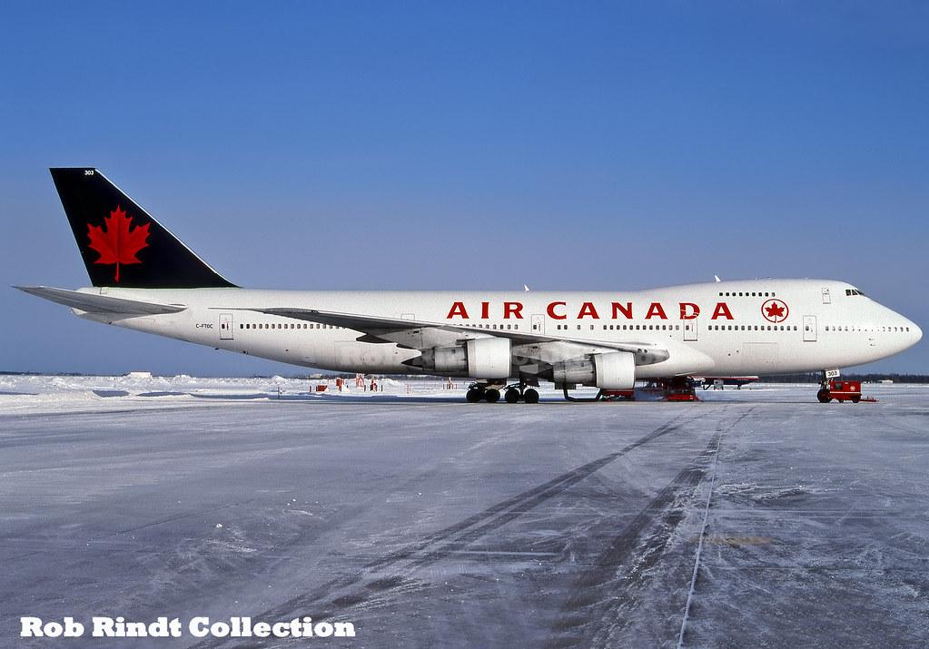 Air Canada B747-133 C-FTOC