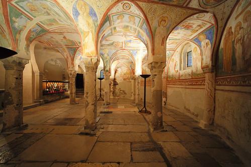 The crypt of frescoes, Aquileia_(Friuli_Venezia_Giulia)_Italy, June_2020_069