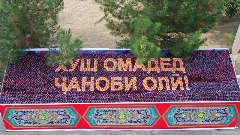 Иштирок дар намоиши зардолу ва асал дар ноҳияи Бобоҷон Ғафуров   30.06.2020