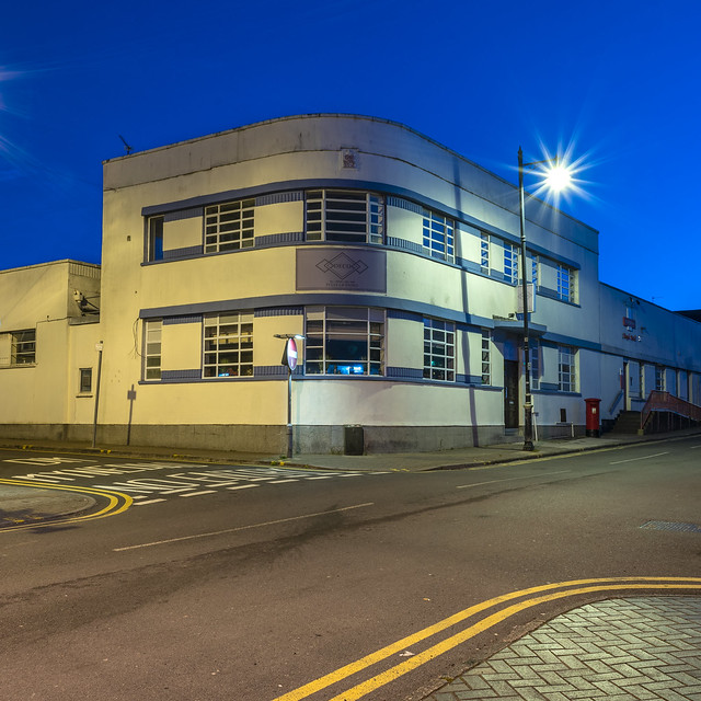 Blue Hour Penarth #1 - Deco
