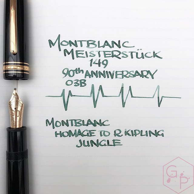 Montblanc Writer's Edition Homage to R. Kipling Jungle Green Ink 3_RWM
