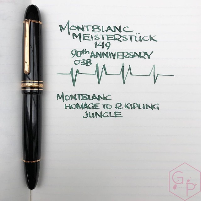 Montblanc Writer's Edition Homage to R. Kipling Jungle Green Ink 2_RWM